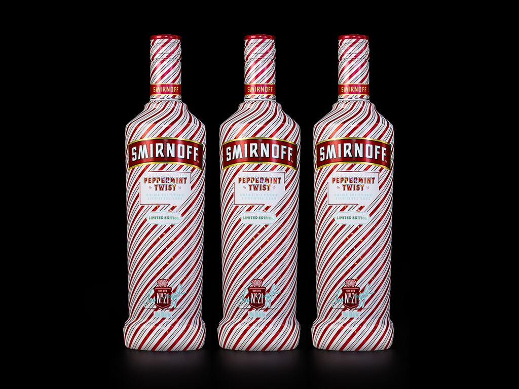 Smirnoff Vodka Unleashes Limited Edition Peppermint Twist