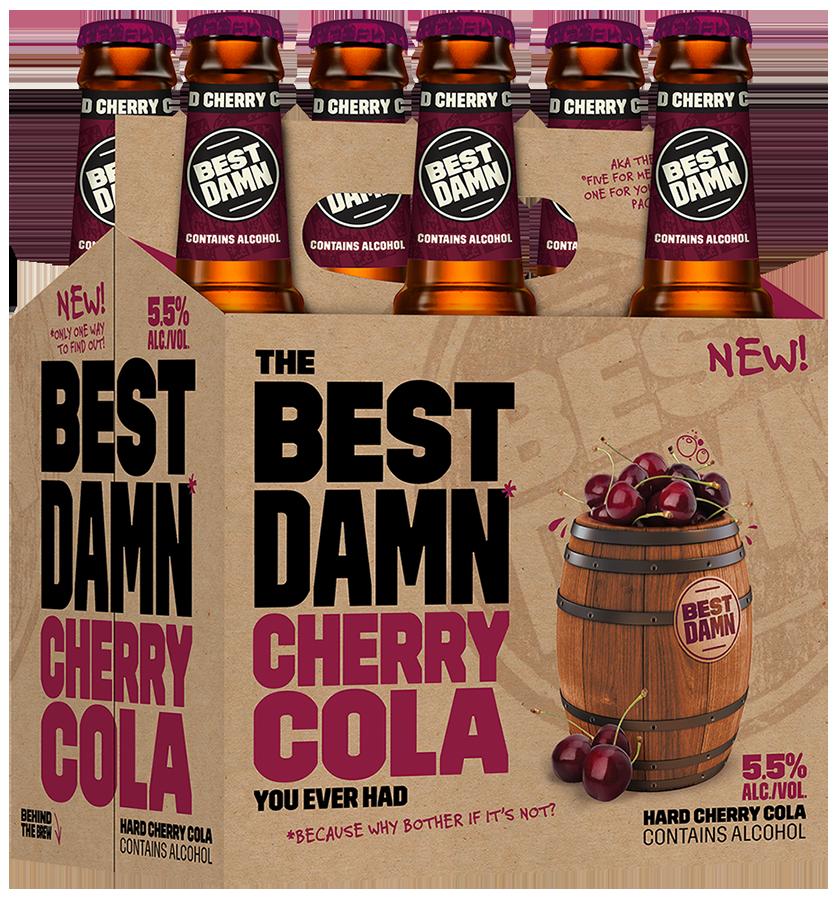Anheuser-Busch & Best Damn Brewing Co. Launch Hard Cherry Cola