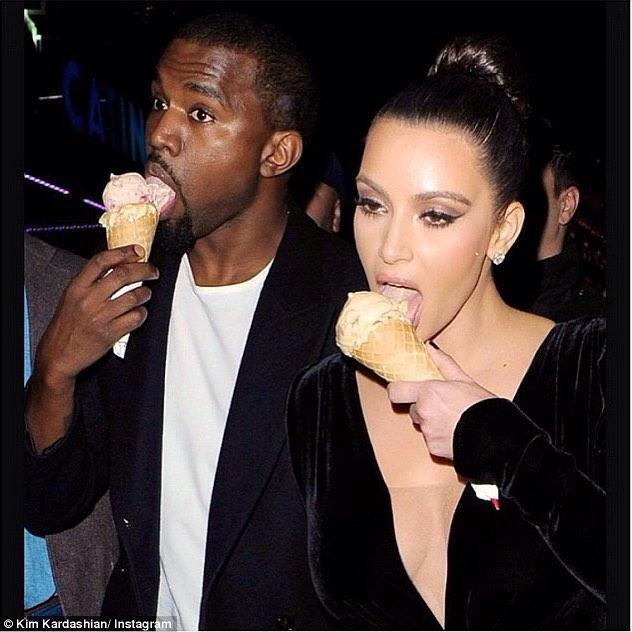 Happy Birthday!! Oh hey Kim!! 🍦🍦
